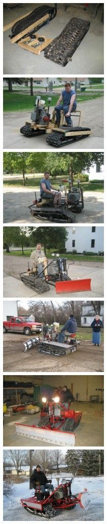 Miller Snow Dozer: Project design and build