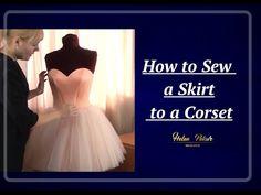 Making A Wedding Dress, Diy Wedding Dress, Wedding Dress Patterns, Wedding Gowns, Sewing Diy, Sewing Tutorials, Sewing Projects, Skirt Patterns Sewing, Cuttings
