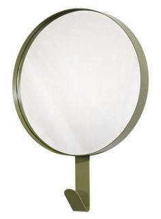 Hook Mirror - Hook -  Ø 37 cm Kaki by Universo Positivo - Design furniture and decoration with Made in Design