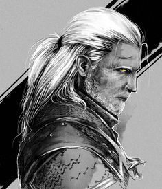 The Witcher Wild Hunt – Gameplay Story Witcher 3 Geralt, Witcher 3 Art, The Witcher Books, The Witcher Game, Witcher 3 Wild Hunt, Ciri, Witcher Tattoo, Witcher Wallpaper, Good Cartoons