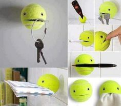 Tennis ball art