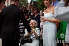 Julia & Scott: Mini wedding celebration -- Special greeting for grandma