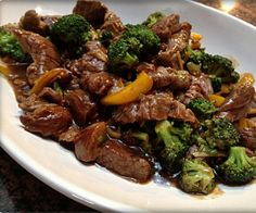 Slow Cooker Teriyaki Beef and Broccoli Stew.This delicious stew can be served over cooked rice,pasta,or any grain.