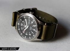 It's been some time since we reviewed a Seiko on worn&wound, which is a shame because Seiko is one of our favorite brands. As long time readers may recall, we've reviewed a number of Seiko's including two from their Seiko 5 line, the SNK military field watch and SNZH diver, both of which have quite … Continue reading Review: Seiko 5 Sport SNZG13