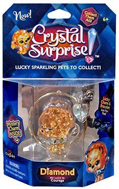 Crystal Surprise! Diamond Lucky Pet Figure [Random Color Pet!]