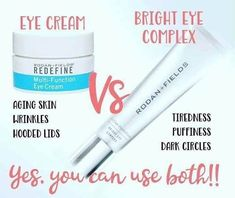 Eyes are one of the first places we start to see the aging process. This fine, delicate layer of skin needs hydration and TLC too! EYE CREAM can help reduce crows feet. A jar lasts several months (4+months) with twice daily use! Pair it with our new Bright Eye Complex to get rid of tired, dark circles, & puffiness, & you've got a winning combo! It also lasts several months (4+ months), a tiny drop spread under each eye in the am and pm.