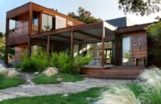 Modern wood house design #Homeowner