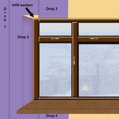 How To Wallpaper Around A Window Or Door Reveal Windows Window Reveal Wallpaper