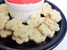 Shortbread Cookies...need to get some Christmas sprinkles.