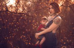 Ces femmes fières d'allaiter photographiées par Ivette Ivens