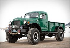 Legacy Power Wagon, a completely modernized version of the Dodge Power Wagon