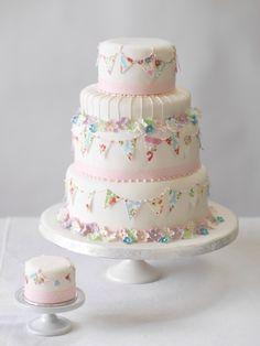 Bunting cake ideas