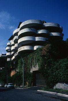 Apartment block, San Maurizio, Rome - 1962, by Luigi Moretti.