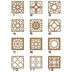 Customizable Decorative Wall Panel (Laser Cut Geometric Wall Art) x Pick your own Pattern and Color. Ready to Hang. Islamic Art Pattern, Arabic Pattern, Gate Design, Door Design, Geometric Wall Art, Geometric Patterns, Motifs Islamiques, Decorative Wall Panels, Art Deco Design