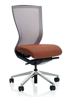 KI Altus Mesh Armless Task Chair, Aluminum 5 Star Base, Hard Floor Casters, Cactus Sand/Grass Green