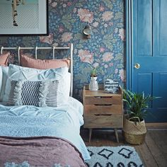 Victorian Bedroom 5 on Home Architecture Tagged on Victorian Bedroom Floral Bedroom, Blue Bedroom, Bedroom Modern, Jewel Tone Bedroom, Brick Bedroom, Bedroom Boys, Trendy Bedroom, Master Bedrooms, Wallpaper Design For Bedroom