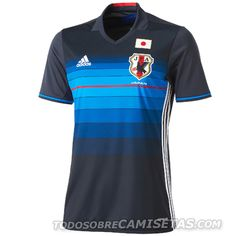 Japan 2016 Adidas Kits (Home and Away)
