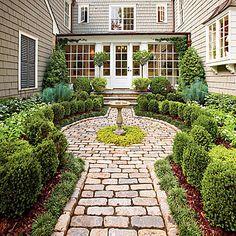 10 Ways To Add Cottage Style: Plant Boxwoods
