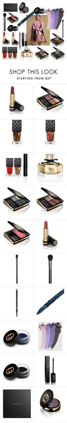 """""""Beautiful Mess"""" by laura-wild-1 on Polyvore featuring beauty and Gucci"""