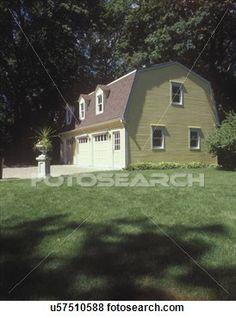 Gambrel Roof Garage Google Search Garages Pinterest