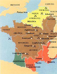 gaul vercingetorix | CEASAR'S CONQUESTS