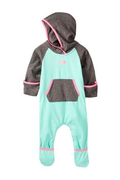 Infant Glacier One-Piece (Baby Girls) by The North Face on @nordstrom_rack