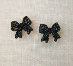 Small Bow Earrings   andRuby