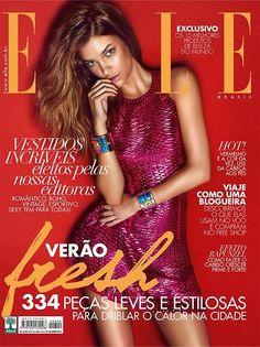 Elle Brasil January 2015   #BarbaraPalvin by Gui Paganini