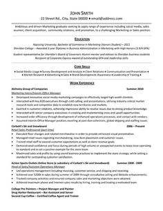 """Sample Resumes For Marketing Professionals The """"sarah"""" Resume  Good To Know  Pinterest"""