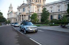Range Rover hybrid on the Silk Trail