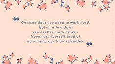 Monday Morning Motivation - 1 | Dont Give Up World Monday Morning Motivation, Tired Of Work, Losing Faith, Monday Blues, Don't Give Up, Be Yourself Quotes, Something To Do, How Are You Feeling, Thoughts