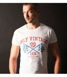 T-shirt Only vintage - blanc