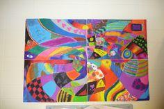Group Mural: Op Art