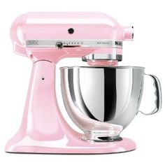 Pink Kitchen Aid Mixer! I have this and I LOVE IT!!!