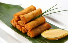 Vegetable Spring Rolls add the perfect amount of crunch to your wedding hors d'oeuvre selection.