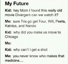 Divergent/ The Hunger Games funny