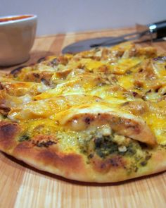 Chicken Pesto Flatbread - from Plain Chicken  Wonderful, quick week night dinner option.