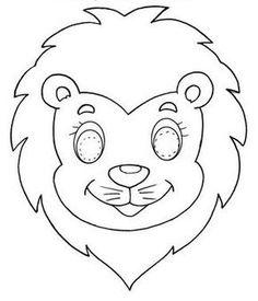 Moldes de mascaras de animales para imprimir  Imagui  curzoo