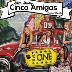 Cinco Amigas is a film  from Argentina that is  perfect for a high school  Spanish class! This viewing guide contains everything  you need to keep students engaged and acquiring  language!