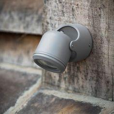 Bovingdon Single Exterior Wall Light - Charcoal