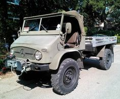 Swiss Army 1965 Unimog 404