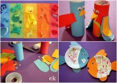 kerienerainbowcraft - lots of craft ideas for toddler activities