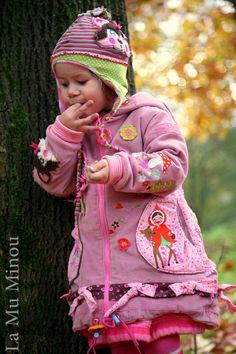#Herbst #mantel #Lova #Kibadoo #Stickdatei #Zwergenschoen #Milli #Zwergenschön #sewing #nähen #embroidery