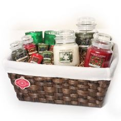Ultimate Holiday Fragrance Lover Hyacinth Basket : Gift Basket : Yankee Candle
