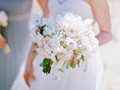 peonies and garden roses