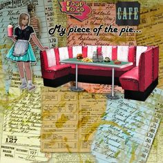 Eclectic Café - I've used Eclectic Café by Altered Amanda's Studio.