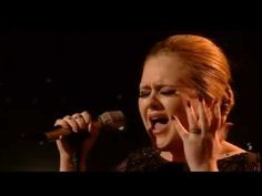 Adele - ''Someone Like You''                                      This gives me chills every time I listen to it. Adele is truly full of heart and soul and it is heard in every note~