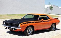 1970 Plymouth Cuda AAR 340 Six-Barrel.