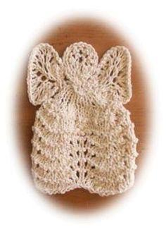 Christmas angel dishcloth - ornament?