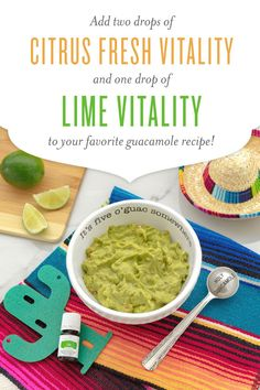 Pin it to win it! Re-pin this recipe by Friday, May 4, at 11:59 p.m., MT, for a chance to win a bottle of Citrus Fresh Vitality and Lime Vitality. All pins on a user's board must be compliant to be eligible.